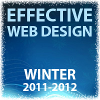 Effective Web Design - Winter 2011-2012