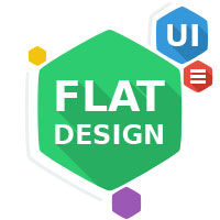 30+ Sets of Flat Icons, Buttons and UI Kits