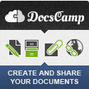DocsCamp - a collaboration platform to create and share documents between team members